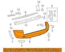 TOYOTA OEM 06-12 RAV4 Rear Bumper-Cover 5215942906
