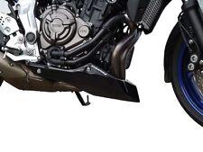 Yamaha MT07 Tracer Gloss Black Belly Pan / Spoiler Pyramid