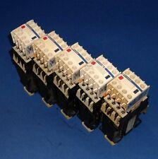 TELEMECANIQUE 24VDC COIL 10A CONTROL RELAY CA3DN62BDREQ3548G6 *LOT OF 5* *PZB*