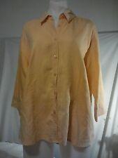 Liz Jordan Ladies Tailored Blouse/Shirt in Tangerine Size 16