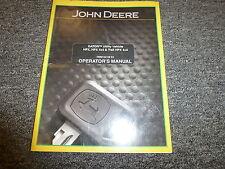 John Deere GATOR HPX 4x4 Trail Utility Vehicle Owner Operator Manual OMM154156E5