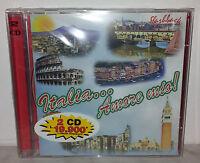 2 CD ITALIA AMORE MIO - MODUGNO PIZZI MORANDI ROSSO PAPETTI DI BARI - NUOVO NEW