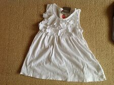 New With Tags White Flower Top By Next In Size 3 To 4 Years