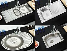 WestWood Stainless Steel Kitchen Sink | Includes Complete Plumbing Kit - 1.0 1.5