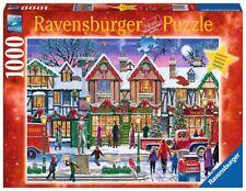 RAVENSBURGER CHRISTMAS PUZZLE*1000 T*WEIHNACHTEN IN DER NACHBARSCHAFT*RAR*OVP