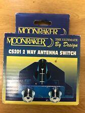 Moonraker CS201 2 Way Coax Radio Signal Antenna Switch 1kw 0-600mhz