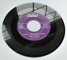 Gene Vincent 45 - Walkin' Home from School / I Got a Baby - Capitol F3874    M-