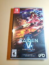 New Raiden V : Directors Cut LIMITED EDITION Nintendo Switch (USA SHIPS FREE)