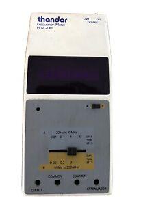 Thandar (Sinclair) PFM 200 Frequency Meter - Used
