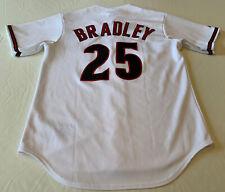 Genuine MLB Archie Bradley #25 Arizona D'Backs White Stitched Baseball Jersey