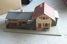 Vintage HO Scale Faller 92 D Rural Passenger Station Building