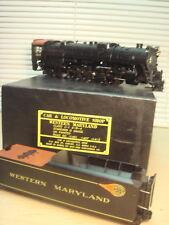 Car & Locomotive BRASS 2-Rail O Ga Western MD 4-8-4 & Tender OB Fix/Parts Deal!