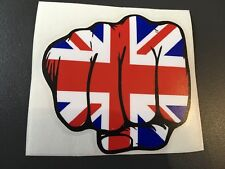 STICKER AUTOCOLLANT POING DRAPEAU ANGLAIS UNION JACK TRIUMPH SPEED STREET TRIPLE