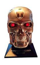 Terminator Dark Fate Popcorn Bucket LED T-800 Storage Theater Collection Movie