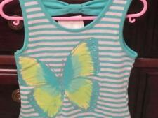 NWT/Beautees Toddler Girls Dress/2T/BUTTERFLY/GLITTER/Tutu/Seafoam Color