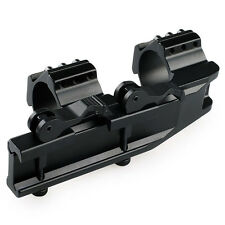 30mm/25.4mm Dual Ring Cantilever Quick Release Scope Rail Mount Picatinny Weaver