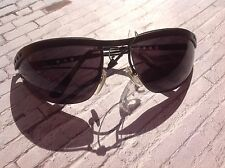 90s vintage black rimless sports sunglasses by BIALUCCI