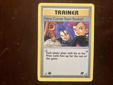 1st Edition Here Comes Team Rocket! 71/82 Pokemon TCG Team Rocket RARE
