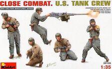 WW II U.S. TANK CREW CLOSE COMBAT (TO SHERMAN, LEE, STUART,  M10..) 1/35 MINIART