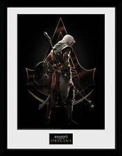 Assassins Creed Origins Assassin - Mounted & Framed Print