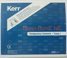 Kerr Temp Bond NE TempBond Temporary Cement Non Eugenol Base Dental