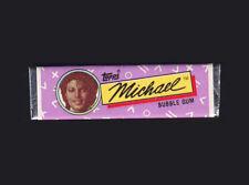 Michael Jackson Chewing Gum TOPPS Bubble Stick Mauve Wrapper Kaugummi 1984 NEW