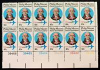 US Airmail SC #C98A 40c Philip Massei Plate Block of 12 CV:$80