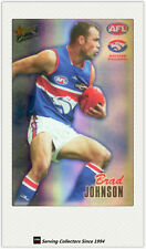 2007 AFL Herald Sun Trading Cards Foil Promo Card P16: B. Johnson