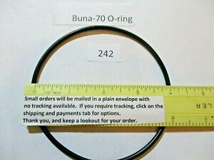 "242 O-ring 4"" ID x 4-1/4"" OD x 1/8"" thick. Buna-70.  Quan 1."