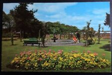 Vintage Falkirk Postcard Goldfish Pond, Dollar Park Colourmaster Col Unused