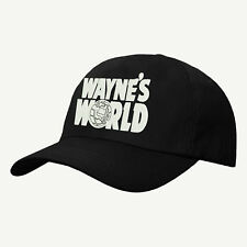 Wayne's World Baseball Cap,Party on Wayne Stock Hat,Embroidered Design