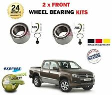FOR VW VOLKSWAGEN AMAROK TSI TDI Bi 2010-> 2 x ABS FRONT WHEEL BEARING KIT SET