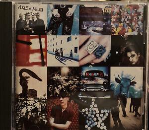Achtung Baby by U2 (CD, Oct-1991, Island) Box3