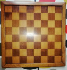 LARGE ANTIQUE JAQUES TYPE CHESS SET BOARD , JAQUES CHESSBOARD