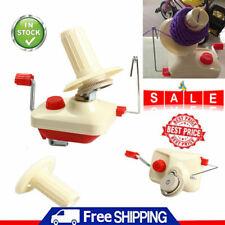 Hand Operated Yarn Winder Fiber Wool String Ball Thread Skein Winder Machine AU