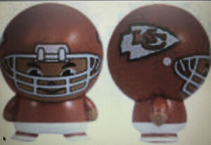 KANSAS CITY CHIEFS NFL Mini Small Football Boy Buildable Cake Topper Birthday!