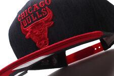 Chicago Bulls Mitchell & Ness (VZ13Z FAS 5BULLS) Denim Dip Snapback Hat