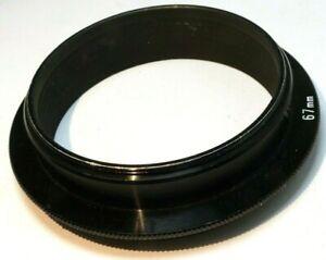 67mm to 85mm OD lens filter holder adapter ring step-up