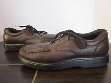 SAS BOUT TIME Leather Oxford Diabetic Orthopedic Walking Shoe Mens 11 N (A09)