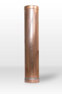Kupfer Dokumentenrolle 80mm * Grundsteinlegung * Zeitkapsel * Dokumentenhülse