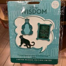Authentic Disney Wisdom baloo March Pin set store Limited The Jungle book