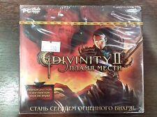 "PC DVD-ROM ""Divinity II. Пламя Мести"" BRAND NEW- NEVER OPENED"