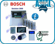 BOSCH ALARM Solution 3000 with 4 PIR security System