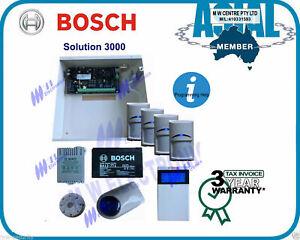 BOSCH ALARM Solution 3000 security System