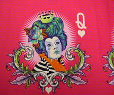 Free Spirit Tula Pink Curiouser & Curiouser The Red Queen in Daydream Fabric BTY