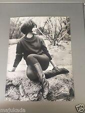 MARJORIE NOËL - PHOTO DE PRESSE ORIGINALE 23x17 cm