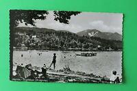 OBB 6) Bayern AK Murnau 1960er Strandbad mit Hörnle Freizeit Bad See Steg Häuser