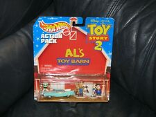 Toy Story 2 Al's Toy Barn Hot Wheels Action Pack NEW SEALED