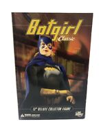 "Batgirl Classic 13"" Deluxe Collector Figure 2007 DC Direct Sealed in Box"