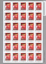 "Sheet 30 Perso stamps Priority letter 20g ""10 years Final Flight CONCORDE"" 2013"